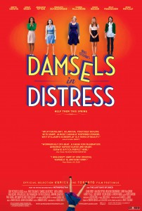 'Damsels in Distress' poster