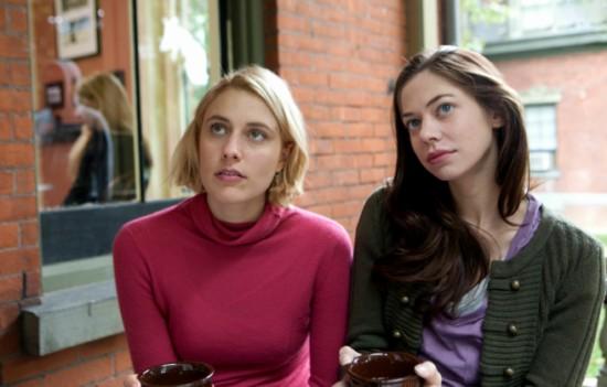 Greta Gerwig and Analeigh Tipton
