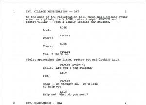 script edges black