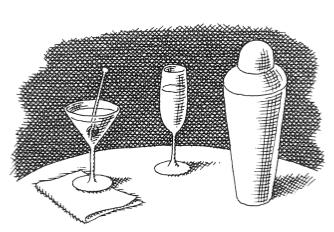 Illustration by Pierre Le-Tan