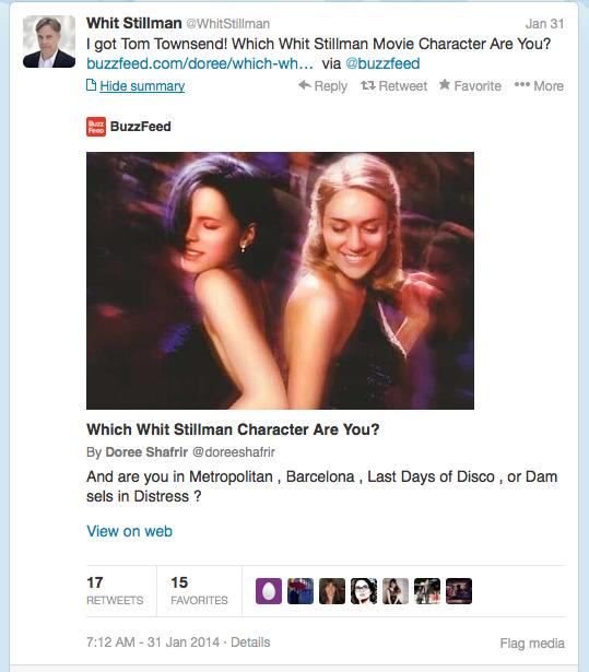 Stillman Buzzfeed