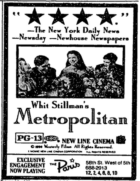 Metropolitan Aug 14th