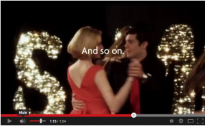 Adam Brody dances The Sambola! with Greta Gerwig