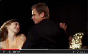 Carrie MacLemore dances The Sambola! with Billy Magnussen