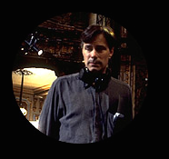 Whit Stillman on set of The Last Days of Disco