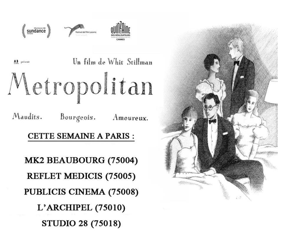 Metropolitan France Francais en salles