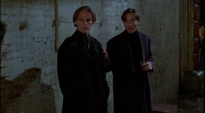 Rick on the left of the screen played by Neil Butterfield